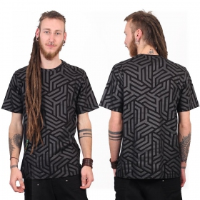 "Camiseta ""Labyrinth"", Negro"