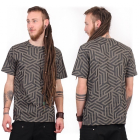 "Camiseta ""Labyrinth"", Gris"