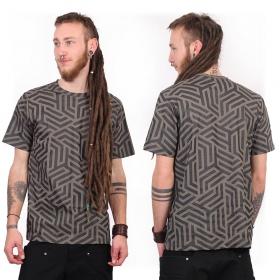 "Camiseta ""Labyrinth"", Gris"