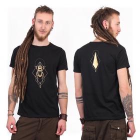 "Camiseta ""Scarab Spirit"", Negro y dorado"
