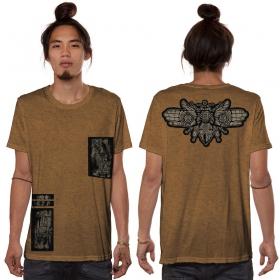 "Camiseta ""Amarth"", Moka jaspeado"
