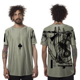 """Camiseta """"Flint"""", Verde oliva"""