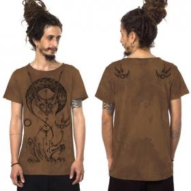 "Camiseta ""Taliz"", Moka jaspeado"