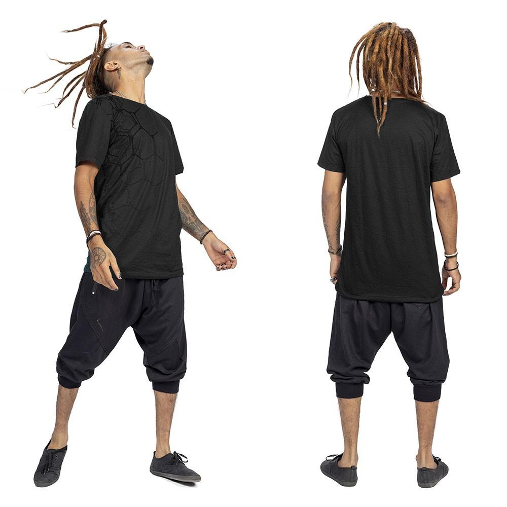 """Camiseta """"Tierra Pollux"""", Negro"""