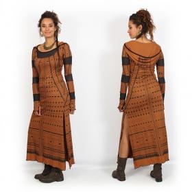 "Vestido largo ""Inanna Kalinga"", Siena"