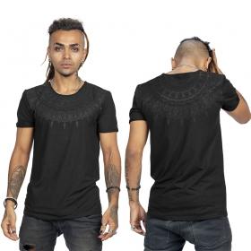 "Camiseta ""Mandala"", Negro"