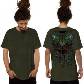 "Camiseta ""Kambo"", Caqui oscuro"