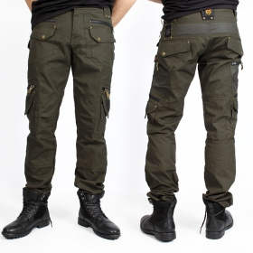 "Pantalones ""Alternative"", Verde caqui oscuro"