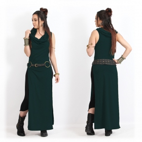"""Vestido """"Nephilim"""", Verde pato"""
