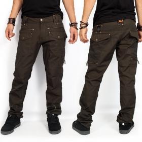 "Pantalones ""Awakke"", Marrón oscuro"