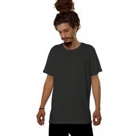 "Camiseta ""Kambo"", Gris oscuro"