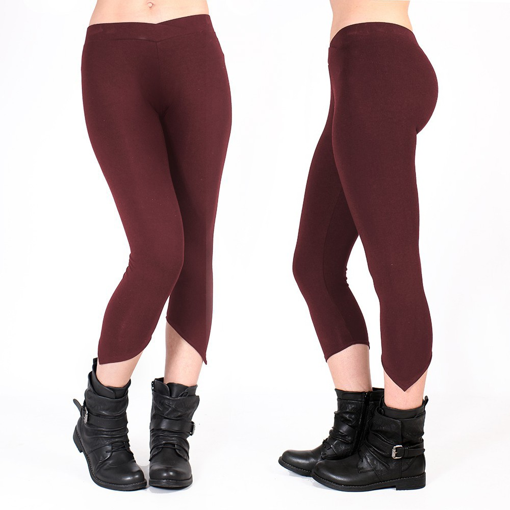 "Leggings ""Shayäa"", Burdeos"