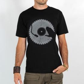 "Camiseta ""Dj Sierra Circular"", Negro"