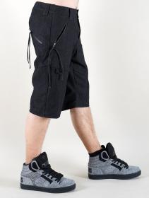 """Pantalón corto de mezclilla """"Vanyar"""", Negro"""