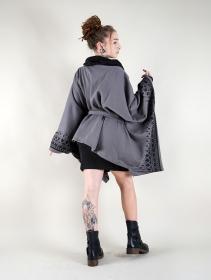 """Chaqueta kimono """"Melian"""", Gris"""