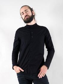 "Camisa de manga larga ""Herendil"", Negro"
