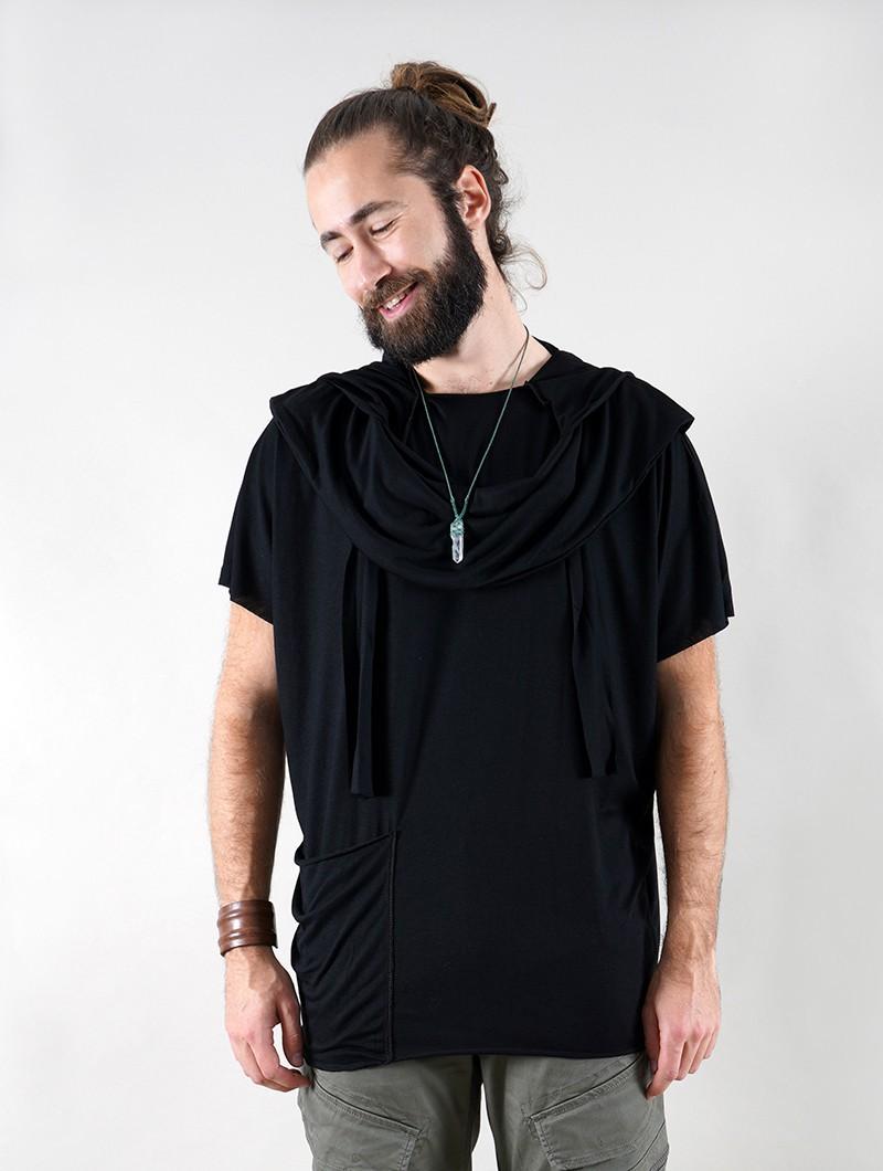 """Camiseta I-Ewer """"Kusumo"""", Negro"""
