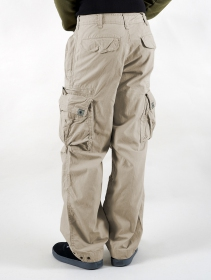 Pantalones Molecule 45019, Beige