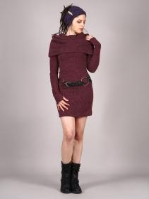 """Vestido suéter """"Mantra"""", Burdeos"""