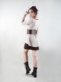 """Cinturón """"Aerandir"""", Cuero sintético marrón"""