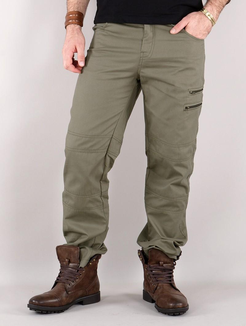 "Pantalones cargo ""Isildur"", Verde oliva"