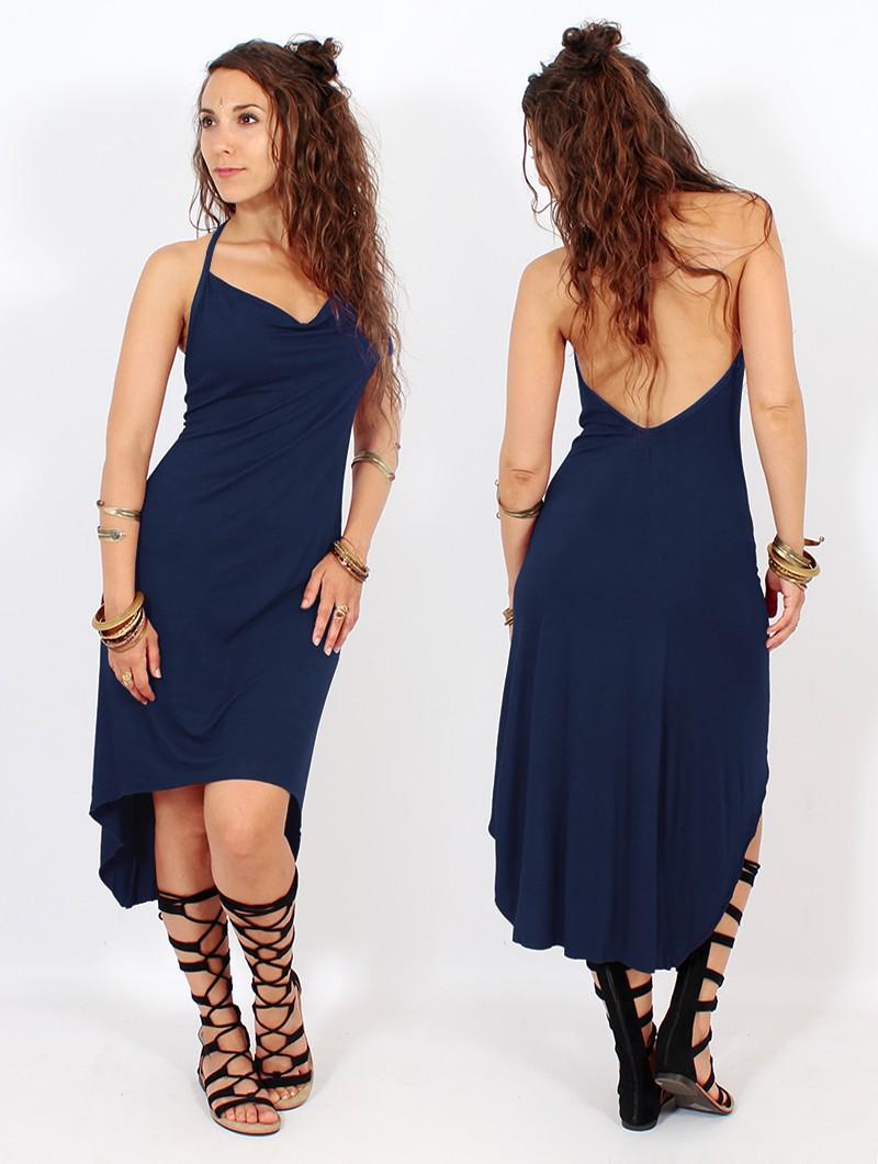 "Vestido ""Trisha"", Azul oscuro"