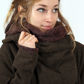 \\\'\\\'Panimya\\\'\\\' cardigan, Brown