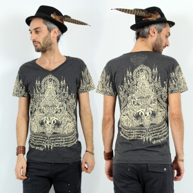 \'\'Rahu2\'\' t-shirt, Dark grey