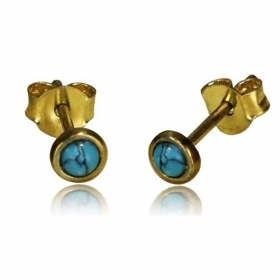 \'\'Saral Turquoise\'\' earrings