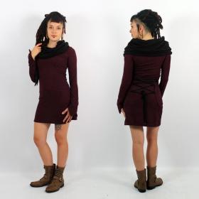 \\\'\\\'Shaë-Lï\\\'\\\' bicolor dress, Wine and black