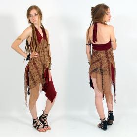 \\\'\\\'Syrada\\\'\\\' 2in1 Skirt/Tunic, Maroon