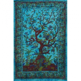 \'\'Tree of life\'\' hanging, Turquoise