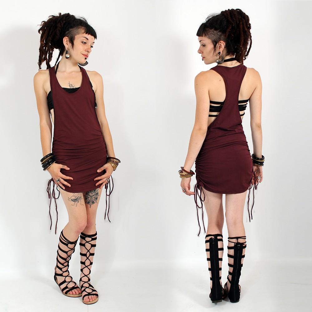 \'\'Ubud\'\' dress, Wine