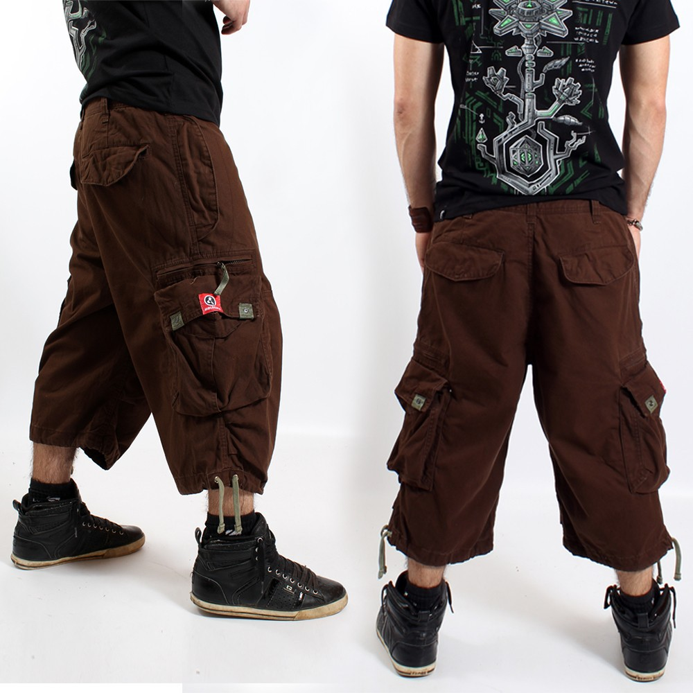 3/4 pants molecule 45056 brown