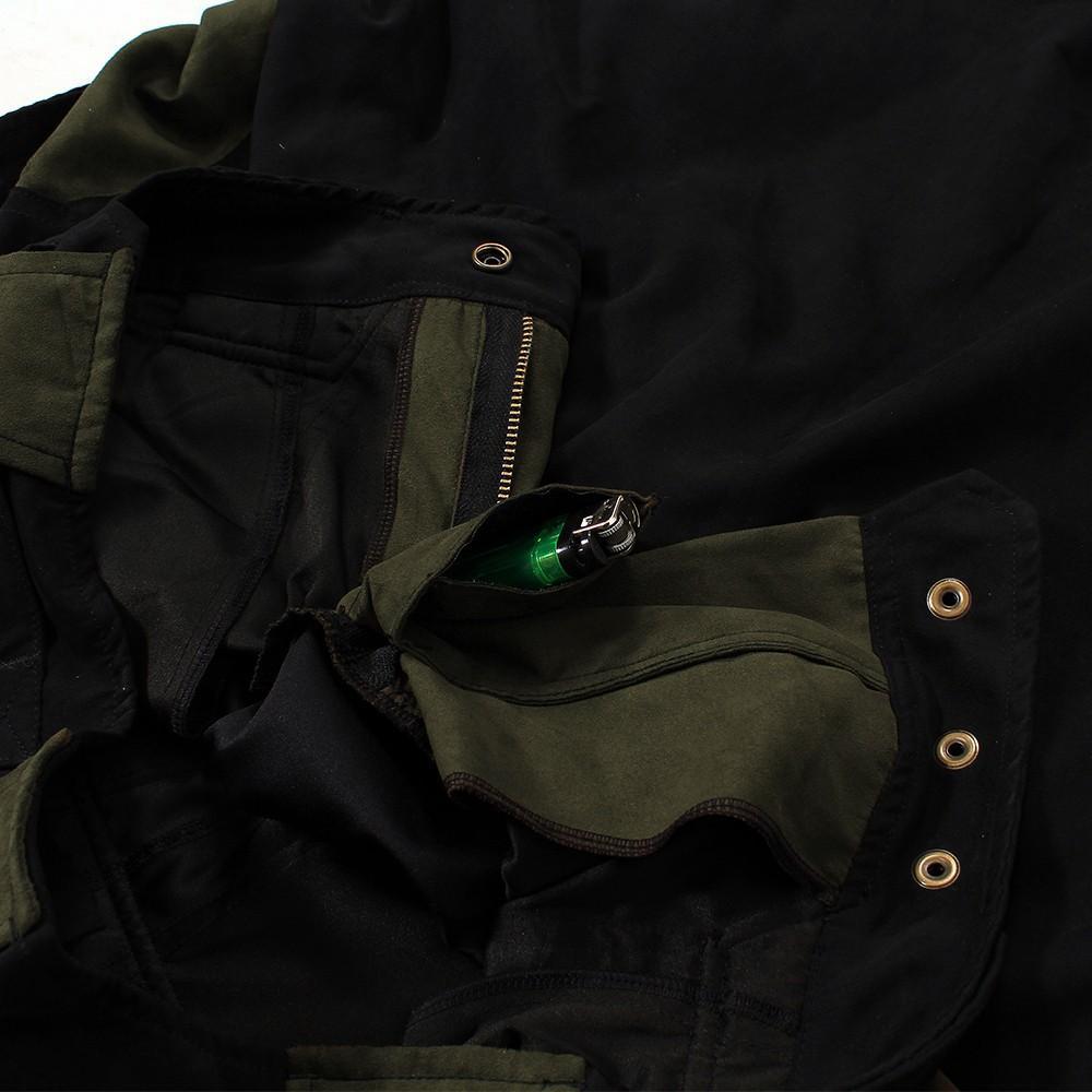 "3/4 Sarouel High Clothing \""Corsar\"", Black khaki"