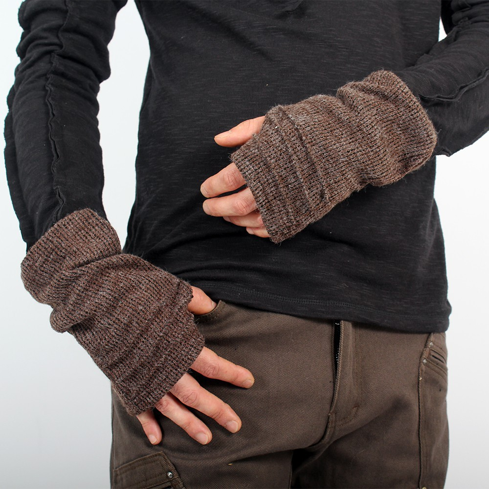 """Arm warmers for men \""""MadMaxx\"""", Brown"""