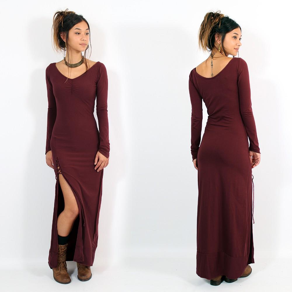 """Aryäa"" dress, Wine"
