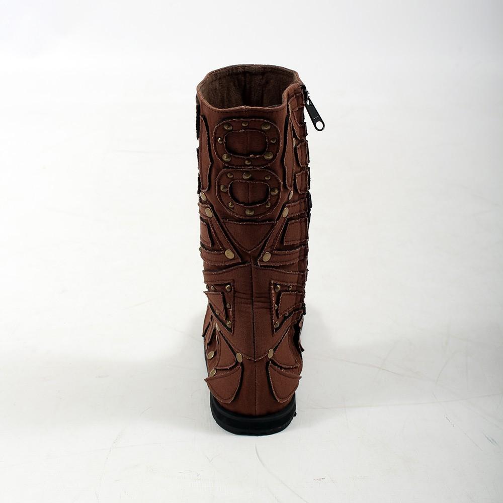 "Boots flower of life \""ninja shakti\"""