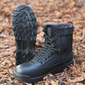 "Botas ""Tactical Zipper\"", Negro"
