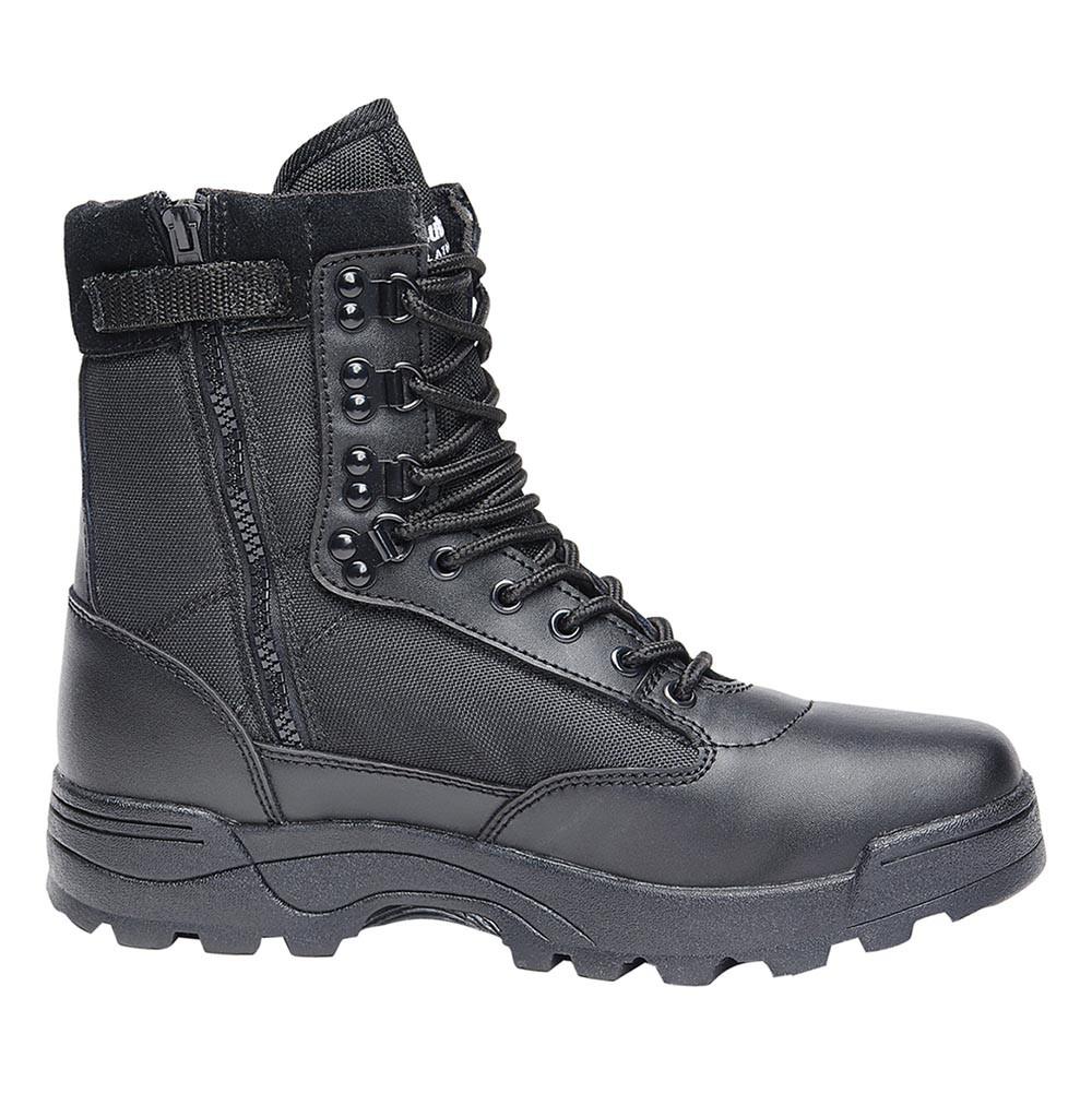 """Botas \""""Tactical Zipper\"""", Negro"""