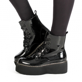 Botas de plataforma \