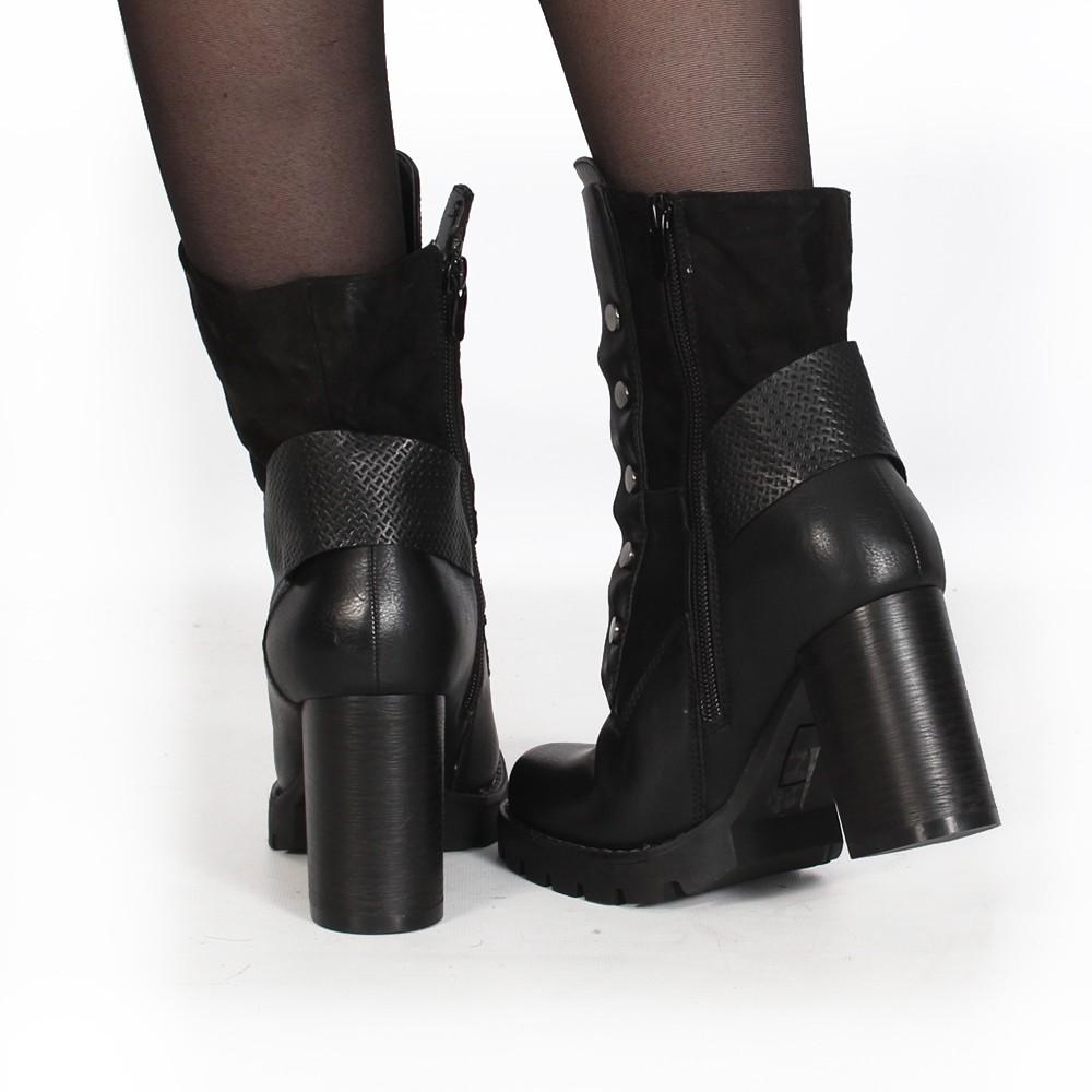 """Botas de tacón \""""Sitoya\"""", Negro"""