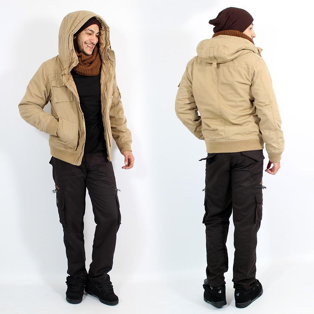 "\""Bronx\"" surplus jacket, Camel"