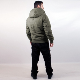 "\""Bronx\\\"" surplus jacket, Khaki"