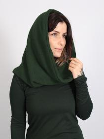 """Bufanda snood unisex \""""Oöna\"""", Verde bosque"""