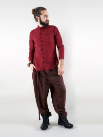 """Camisa de manga larga \""""Herendil\"""", Burdeos"""