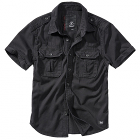 "Camisa de mangas cortas \""Hardee\"", Negro"