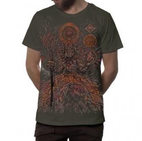 "Camiseta \""Abualita\"", Beige oscuro"