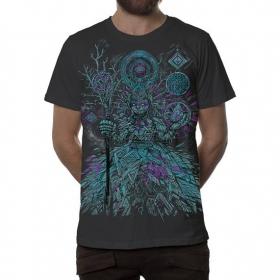 """Camiseta \""""Abualita\"""", Gris oscuro"""
