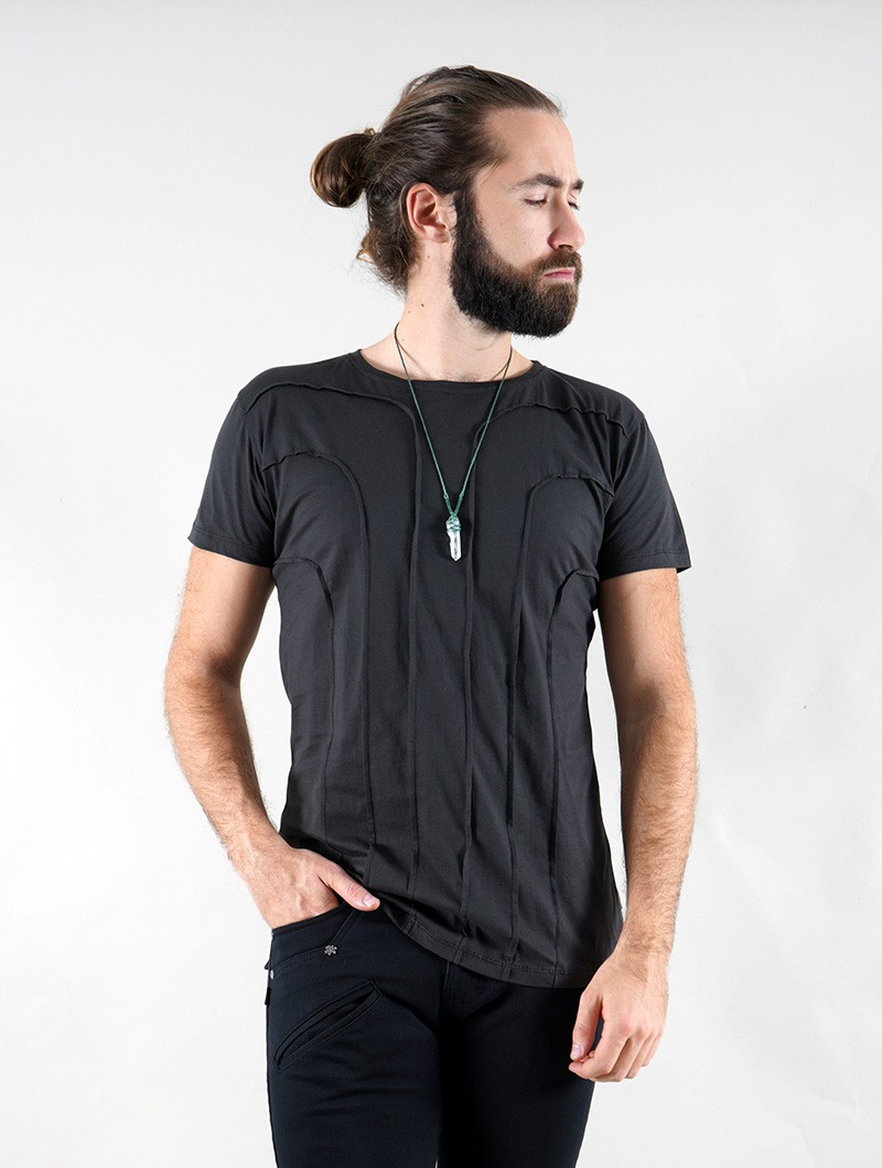 """Camiseta \""""Agoria\"""", Gris carbón"""